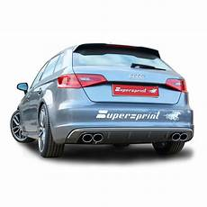 exhaust system development for audi a3 s3 8va sportback