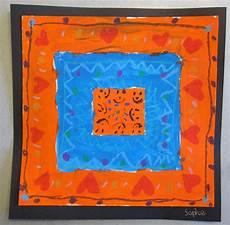 art is basic art teacher blog complementary color quilt paintings