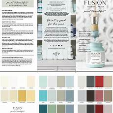 new fusion mineral paint color card digital download the painted heirloom