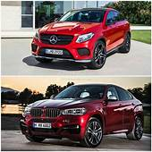 2015 BMW X6 Vs Mercedes Benz GLE Coupe The Battle Of