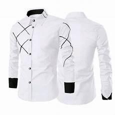 jual baju kemeja pria slim fit lengan panjang kemeja kerja kemeja santai kemeja terbaru
