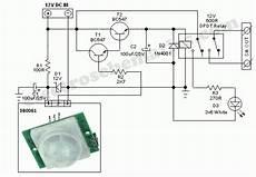 pir sensor security light switch