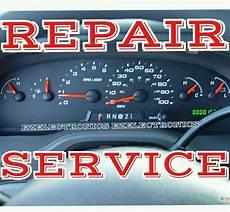 how make cars 1984 ford e250 instrument cluster ford e150 e250 e350 e450 instrument cluster repair service 2004 to 2008 speedo ebay