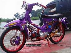 Warna C70 by 40 Foto Gambar Modifikasi Honda C70 Kontes Airbrush