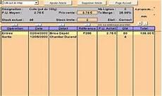 logiciel gestion de stock gratuit excel logiciel gestion de stock t 233 l 233 charger des logiciels pour