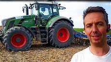 vidéo de tracteur tracteur moderne au travail
