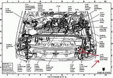 97 ford taurus sho engine diagram 1997 ford explorer engine diagram automotive parts diagram images