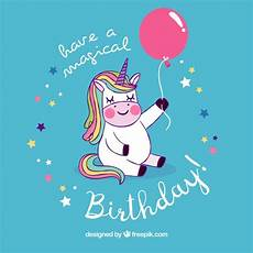 Malvorlagen Gratis Einhorn Happy Birthday Hintergrund Der Sch 246 Nen Einhorn Mit Geburtstag Ballon
