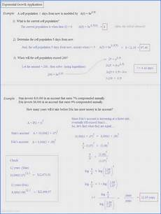 exponential growth and decay worksheet answers briefencounters