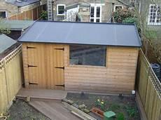 gartenhaus dach abdichten large outside storage buildings free garden shed plans