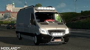 Mercedes Sprinter Long 2015 V 09 BETA Mod For ETS 2