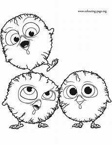 free birds the coloring page
