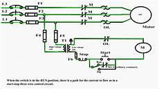 Circuit An Electrical Motor Jog