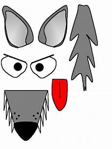 wolf craft printable wolf craft paper roll crafts
