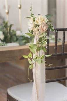 wedding aisle decoration pew flowers of 8 s moment