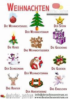 weihnachten navidad wortschatz vocabulario grammatik