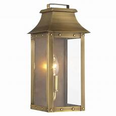 acclaim lighting manchester collection 1 light aged brass outdoor wall lantern 8413ab the home
