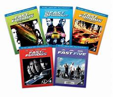 save 62 on fast and furious 1 5 bundle on or dvd