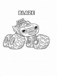 Malvorlagen Blaze Und Die Maschinen Blaze Und Die Maschinen Ausmalbilder F 252 R Kinder 8