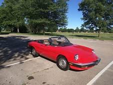 No Reserve 1985 Alfa Romeo Spider Graduate 20L Fuel