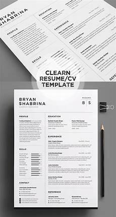 50 best minimal resume templates design graphic design junction