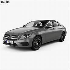 mercedes e class w213 amg line 2016 3d model