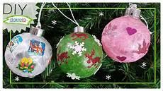 weihnachtskugeln basteln diy zeichenderliebe