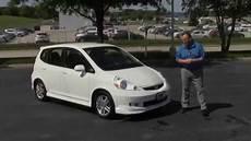 used 2007 honda fit sport for sale at honda cars of bellevue an omaha honda dealer youtube