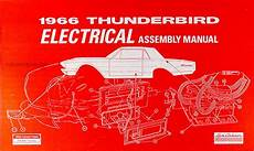 1966 Ford Thunderbird Electrical Assembly Manual Wiring