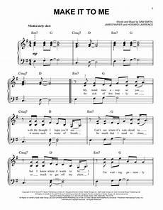 make it to me sheet music direct