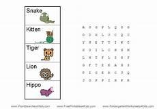 word search for kindergarten kindergarten teacher resources