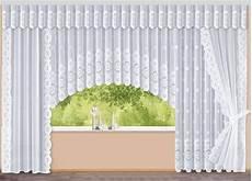 c bogen store mit floraldessin gardinen bader