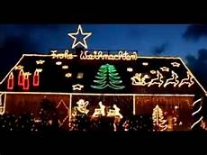 Lichterkette Weihnachtsbeleuchtung Haus Das Lichterhaus In