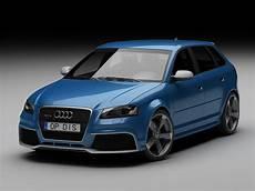 3d Audi Rs3 2012