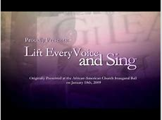 lift every voice and sing youtube