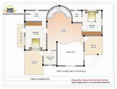 house plans for duplexes duplex house plan and elevation 3122 sq ft indian