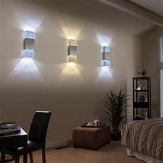 led wall l wall sconce light 2w knob switch indoor use ac85 265v new hallway walkway bedroom