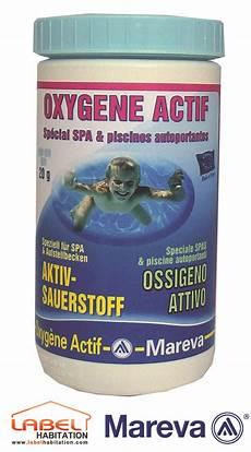 filtre piscine oxygene