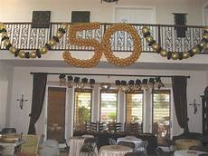 50th anniversary party ideas on a budget balloon