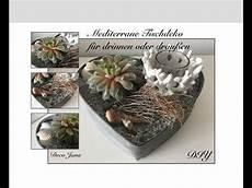 Diy Mediterrane Sommerdeko Pflanzendeko Mit Sukkulenten