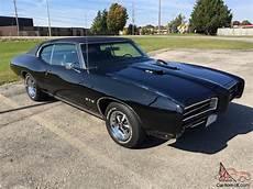 1969 Pontiac Gto Black Ebay
