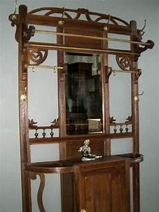 garderobe antik jugendstil top jugendstil flur garderobe antik wandgarderobe dielenschrank eiche schrank ebay