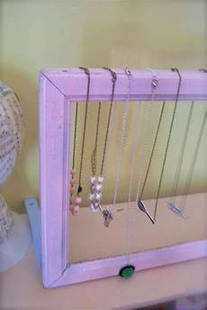from the factory diy craft show display tutorial 3 vintage frame necklace stand