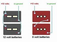 12 to 6 volt diagram 1999 santara class c coach 6v batteries replaced but still no battery power for coach lights