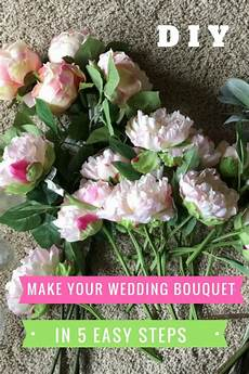 how to make a fake flower wedding bouquet angie away