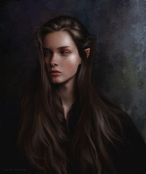 Elf Dark Hair