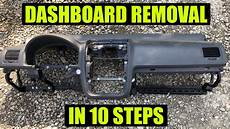 how remove dash on a how to remove dashboard on vw golf mk5 rabbit jetta gti in 10 steps