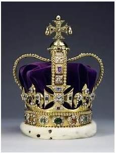 La Couronne De St Edouard Dite St Edward S Crown En Anglais