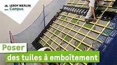 Comment Poser Des Tuiles 224 Embo 238 Tement Leroy Merlin