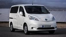 nissan e nv200 review seven seat ev tested top gear